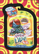 2015 Wacky Packages Series One Pattern 88 Little Live Pests