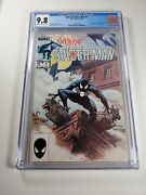 Web Of Spiderman 1 Cgc 9.8 1st Appearance Of Vulturions Marvel 1985