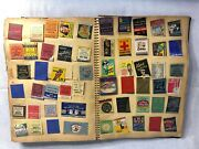 Vintage Matchbook Cover Collection 1920-1990 Over 1000 Unique Covers