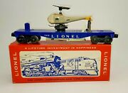 Lionel Post War O Scale Operating Helicopter Car No 3419 With Original Pic Box