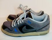 Nike Sb Zoom Air Oncore 6.0 Mens Shoes Gray Size 12