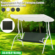 85cm Swing Cover Chair Waterproof Cushion Patio Garden Outdoor Seat Replacement