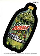 2013 Wacky Packages Series 11 Magnets 6 Mtn Doom - Nm-mt