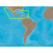 C-map Max Na-m027 - Central America And The Caribbean - Sdandtrade Card