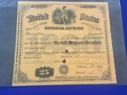 1880 U.s. Irs Stamp For Special Tax Retail Liquor Dealer Signed State Virginia