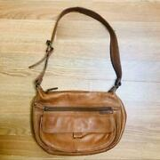 Fossil British Tan Butter Soft Leather Hobo Bag