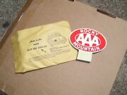 Original 1950 Andlsquos- 1940s Vintage Aaa Auto Glow Emblem Nos Badge Chevy Gm Ford Mgb