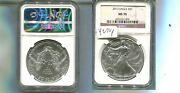 2013 American Silver Eagle 1 Ounce .999 Fine Coin Ngc Ms70 4270p