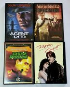 Agent Red, The Russian Specialist, Laser Mission And Vision Quest Dvd