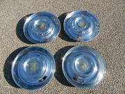1954 1955 Cadillac Coupe Deville Wheel Cover Hubcaps