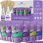 Hard Wax Beans Wax Beads 21oz - Painless Coarse Hair Removal - Back And Chest