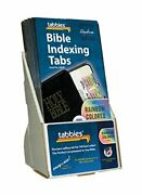 Tabbies 20 Pack With Display Rainbow Noah's Ark Bible Indexing Tabs Old And New...