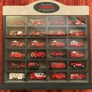 Tomica Fire Engine Ambulance Total 24 Units Case-in