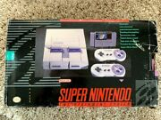 Super Nintendo Mario World Console Complete With Box 2 Controllers Snes Tested