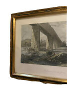 C.1872 Engraving Print Richmond From The James D. Appleton And Co.