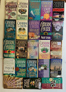 Catherine Coulter Romance Novel Book Lot Of 23 Books Inc Jade Star, Earth Song