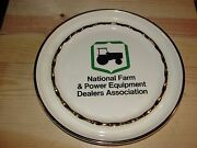 Vintage National Farm Tractor And Power Equipment Dealers Assoc John Deere Ashtray