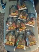 Star Wars Revenge Of The Sith Action Figures Lot Of 9