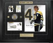 Bobby Orr Print 2014 Nhl Signed Numbered Stamp Canada Post Limited