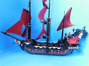 Lego 4195 Queen Anne's Revenge Pirates Of The Caribbean Missing 2 Minifgs