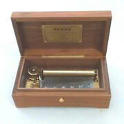 [n.mint] Reuge Music Box 72 Note 3 Songs Ave Maria Jandeacutesus Que Ma Japan [used]