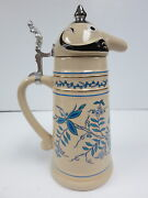 Figural Character Pottery Beer Stein Schultz Duley Fx Matt Brewing Co Utica Ny