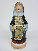 Figural Character Pottery Beer Stein Munich Child Hand Painted Porcelain Look