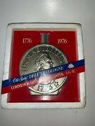 Vintage Old Spice Deluxe Cologne Coin Decanter 6 Fl Oz Thomas Jefferson - New