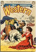 All-american Western 126--1952--johnny Thunder Vs Camel Mounted Arab With ...