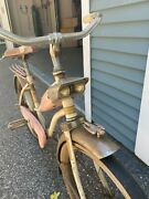 Vintage 1960's Original Luxe Pink Junior Bicycle From S. Belittle And Sons