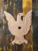 Vtg Antique Rare Fallout 76 Eagle Cast Iron Shooting Gallery Target Carnival