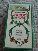 Vintage Fournier Spanish Tarot Cards 1975 Printed In Spain Complete Based 1736