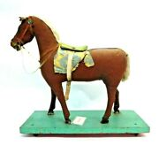 Vintage Horse Pull Toy