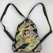 2003 King Features Syndicate Betty Boop Handbag Purse Mini Backpack