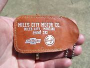 Vintage 1960' S Chevrolet Accessories Nos Promo Auto Old Key Holder Buick Gm