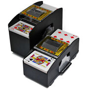 Board Games Poker Electric Automatic Playing Cards Shuffler For 1-4/1-6 Desks