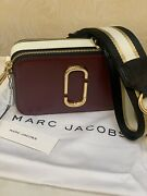 Marc Jacobs Snapshot Small Camera Bag Multicolored Burgundy New With+ Tags