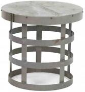 Coffee Table Cocktail Galvanized Tin Cold-rolled Steel