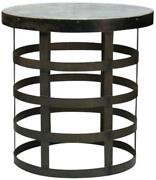 Blake Side Table Cold-rolled Steel Galvanized Tin