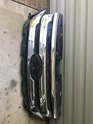 11 12 13 14 2011-2014 For Ford Edge Upper Bumper Grille Chrome Used Ry3450