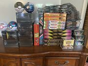 Huge Pokemon Sealed Product Collection