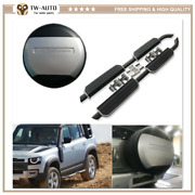 3pcs Side Step Running Board Tire Tyre Cover Fit For Defender 110 L851 2020 2021