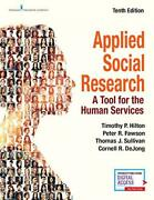 Applied Social Research A Tool For The Human Services Hilton Sullivan R.+
