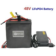 48v 10ah 20ah 30ah 40ah Lifepo4 Battery Pack For Electric Bike Bicycle Scooter