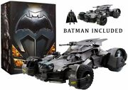 Mattel 1/10 Batmobile Rc/justice League Edition Box Opening Only Huge Total