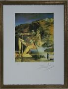 Salvador Dali The Spectre Of Sex Appeal Lithograph Limited 2000 Pcs.