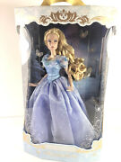 Disney Store Cinderella Limited Edition Doll Live Action Film 17'' Le 4000 Mint