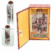 Chinese Prism Shaped Inside-painted Glass Snuff Bottle