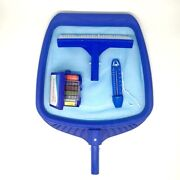 Spa Pool Cleaning Kit Accessories Contain Net Brush Thermometer And Test Box Set