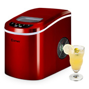 Electric Ice Maker Machine Mini Portable Compact Cool Summer Outdoor Indoor